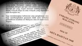 Using Sedition Act on elected reps against freedom of speech
